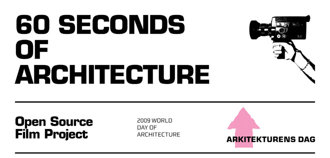 60 seconds of architecture