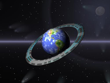 earth ring - megascale engineering