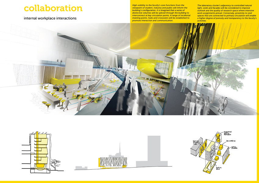 These drawings were presented in booklet format and used the A2 panels ...